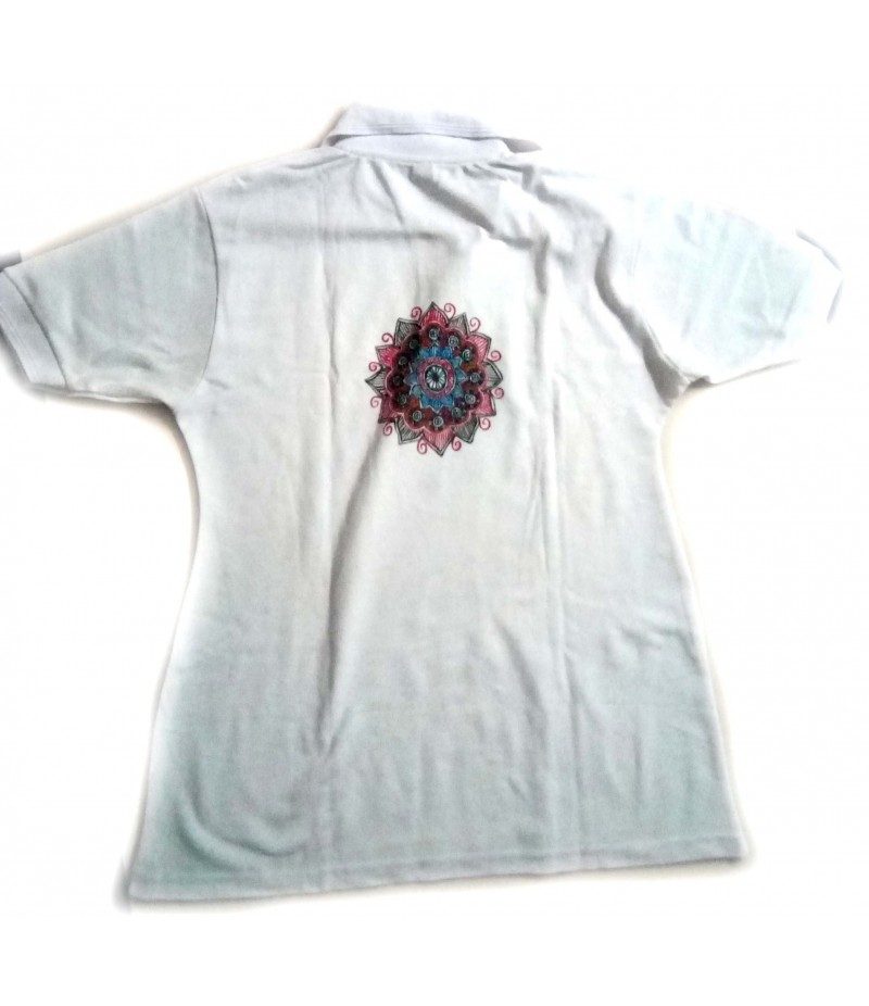 Madhubani Painting on T-shirt