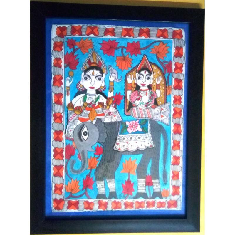Shiv & Gauri .painting